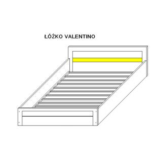 Łóżko VS8 (pasuje materac 200x160cm)